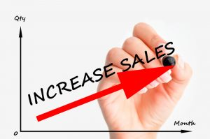 Increase sales graph germany business